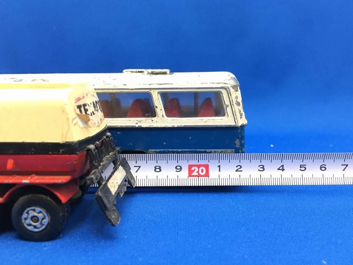 ミニカー YONEZAWA BUS matchBOX TANKER 昭和 レトロ ヨネザワ バス マッチボックス タンカー_画像10