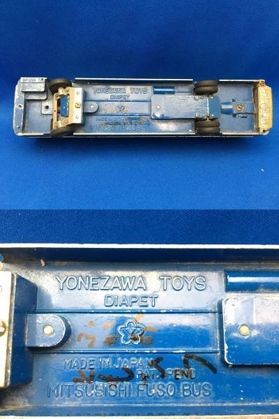 ミニカー YONEZAWA BUS matchBOX TANKER 昭和 レトロ ヨネザワ バス マッチボックス タンカー_画像6