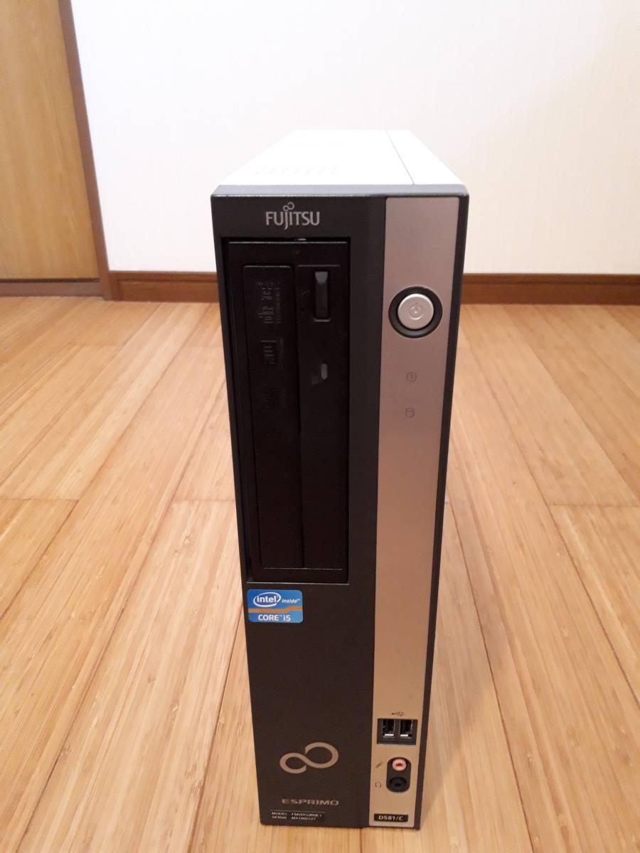 ◆富士通 FMV ESPRIMO D581/C Core i5 2500 /8GB/500GB/Win10/office365/DtoDリカバリ◆