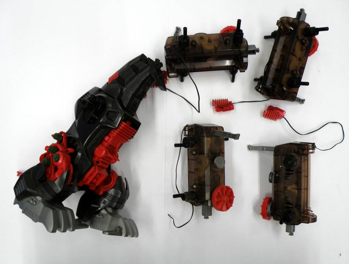 ◆ トミー ゾイド ジャンク-17 新旧 デスザウラー ◆ ZOIDS TOMY プラモデル パーツ取り・レストア用_画像2