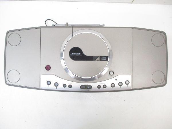 □動作品 BOSE ボーズ 一体型 VIRTUAL IMAGING ARRAY VIA 高音質 CD・MD プレイヤー FM/AM 専用ケース付 0201 A-3□_画像5
