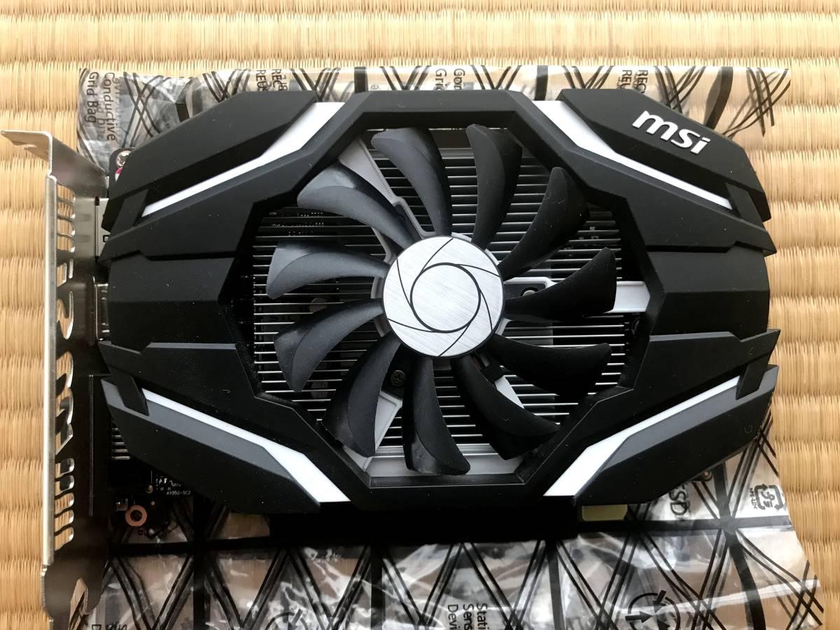 MSI GEFORCE GTX 1050ti 4GB OCV1 【省エネ/シングルファン/省スペース設計】_画像2