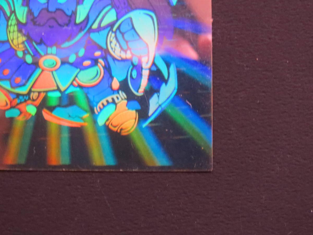 旧ビックリマンチョコ 第6弾 ブラックゼウス 当時のオリジナルシール!!_画像7