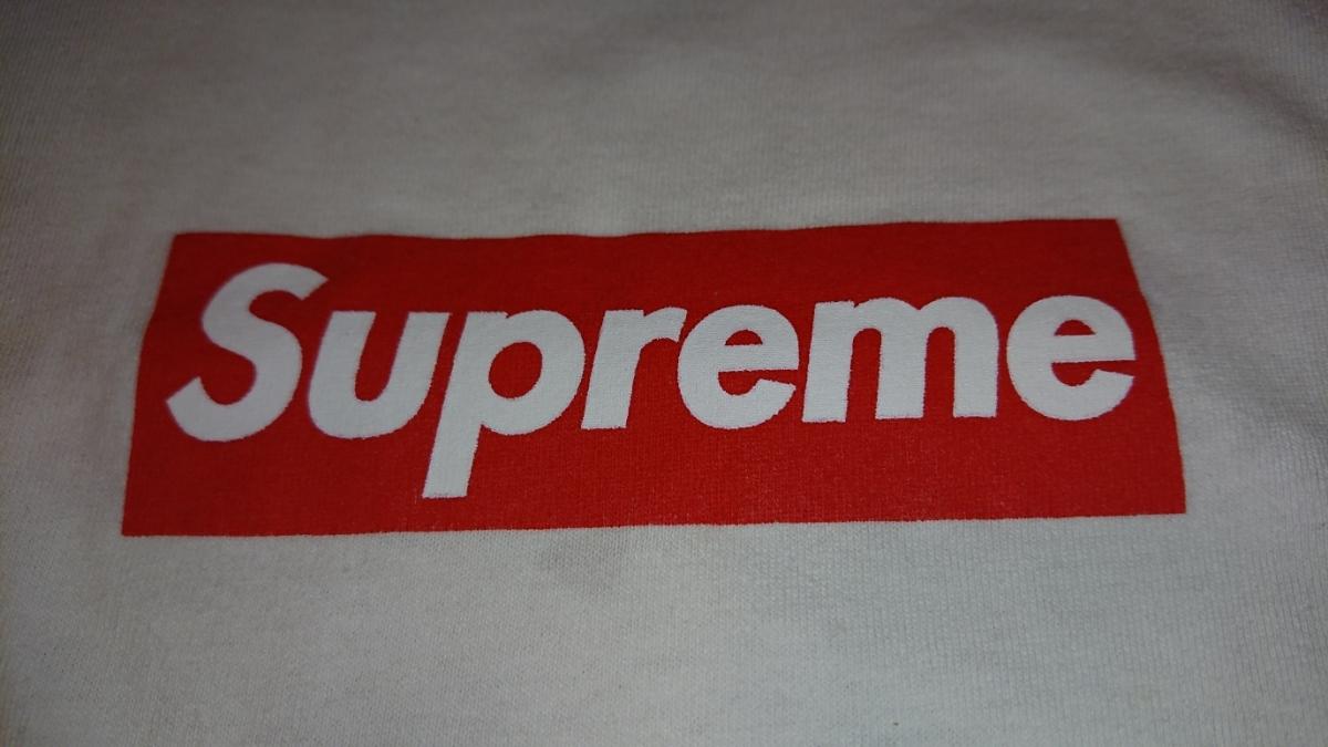 売り切り 1円スタート カッコイイ! Supreme ボックスロゴ Tシャツ Mサイズ 中古 シュプリーム box logo tee _画像6
