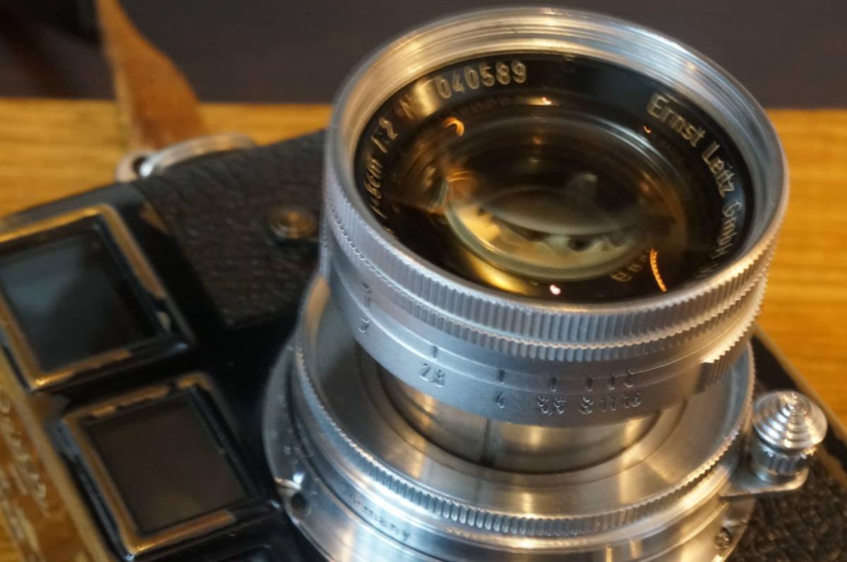 ★Leica Summicron 5cm F2 ライカ ズミクロン 50mm f2 沈胴 トリウムレンズ ドイツ製 104万番代★_画像7