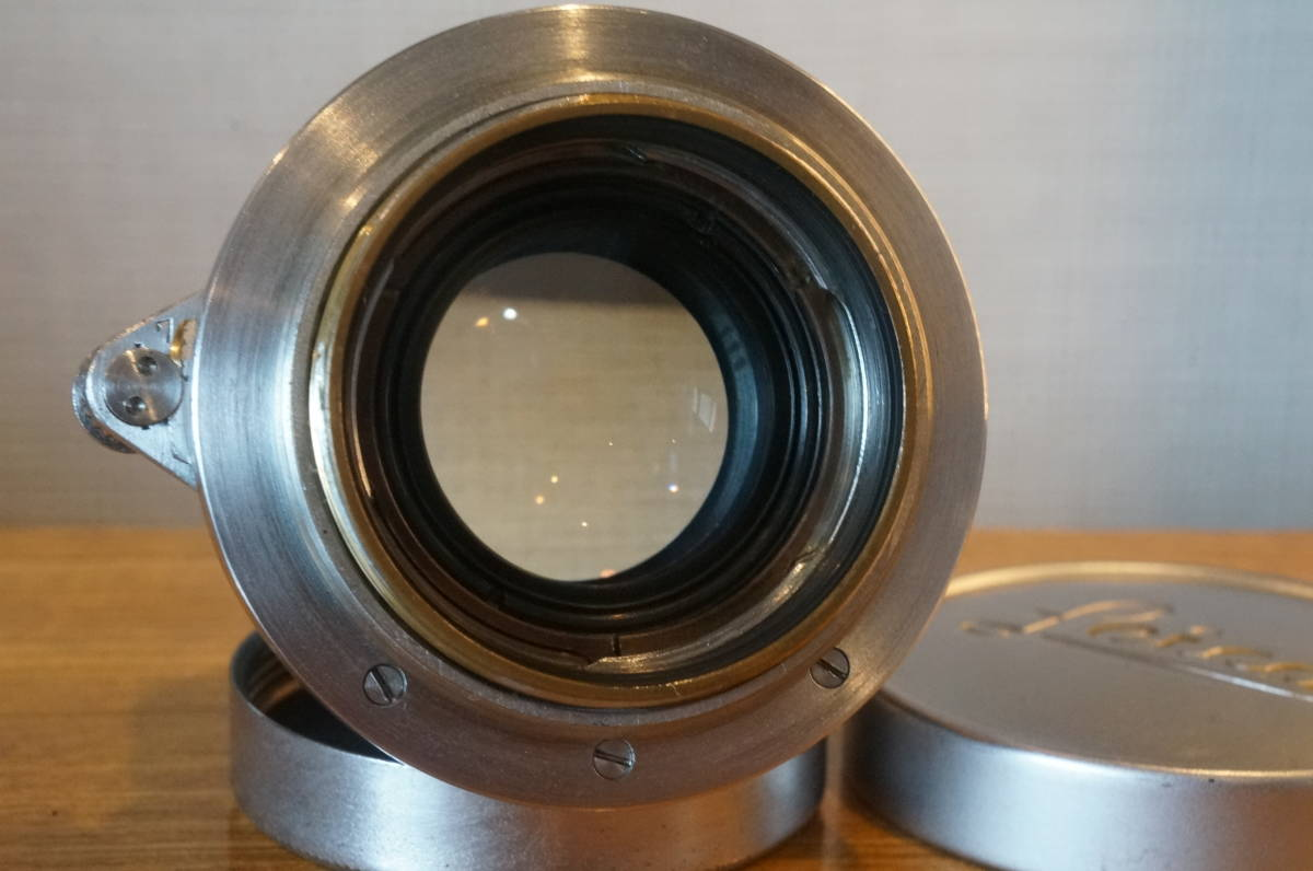 ★Leica Summicron 5cm F2 ライカ ズミクロン 50mm f2 沈胴 トリウムレンズ ドイツ製 104万番代★_画像5