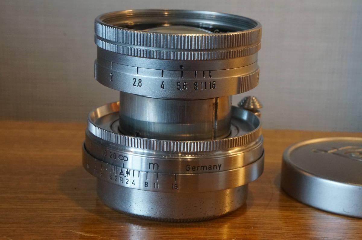 ★Leica Summicron 5cm F2 ライカ ズミクロン 50mm f2 沈胴 トリウムレンズ ドイツ製 104万番代★_画像2
