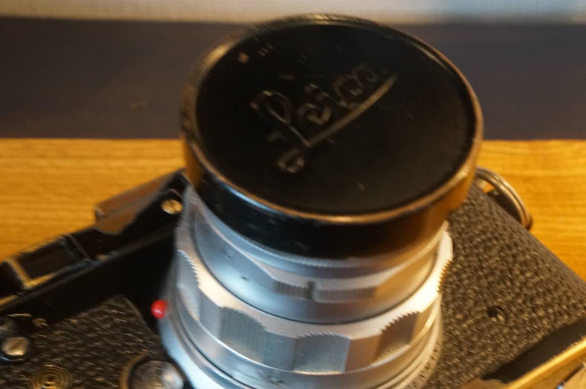 ★希少 ライカ 純正 39mm ブラックペイント レンズキャップ ズミクロン 50ミリ等 E39★_画像5