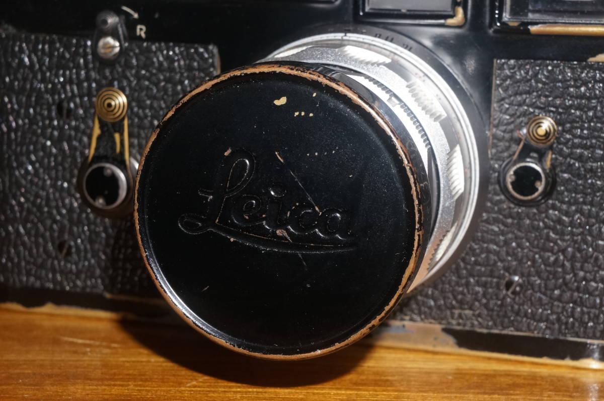 ★希少 ライカ 純正 39mm ブラックペイント レンズキャップ ズミクロン 50ミリ等 E39★_画像7