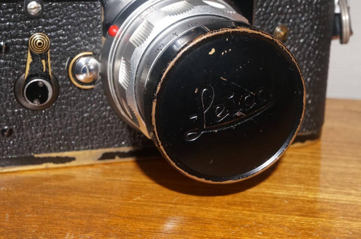 ★希少 ライカ 純正 39mm ブラックペイント レンズキャップ ズミクロン 50ミリ等 E39★_画像6