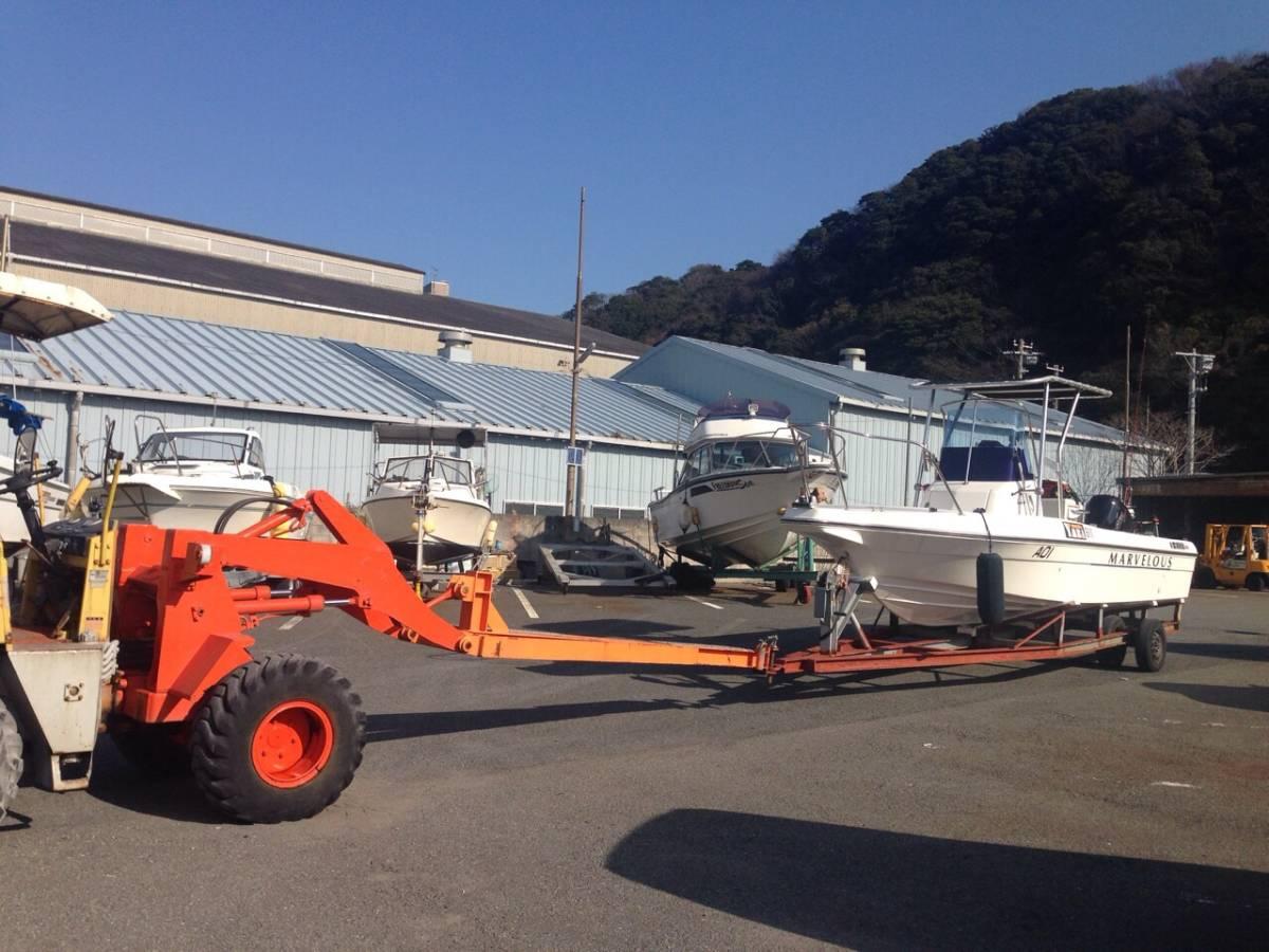 トーハツ マーベラス21ft 静岡県沼津 平成26年3月進水 ミンコタ搭載 モーターショー展示艇