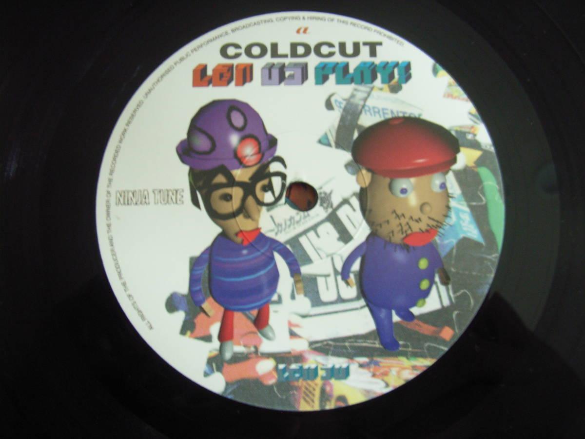 COLDCUT / LET US PLAY /2LP/NINJA TUNE_画像3