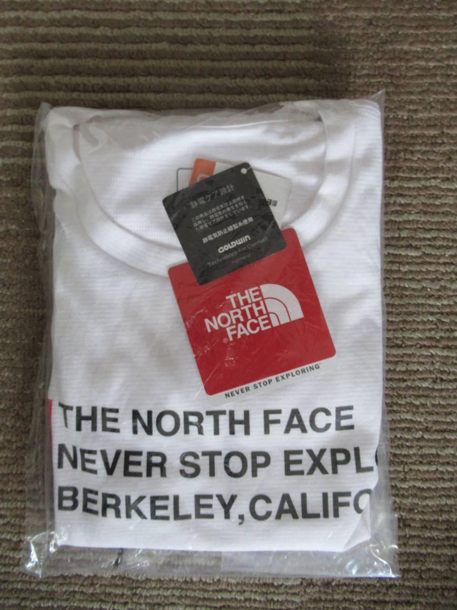 【新品】THE NORTH FACE メンズ SQUARE LOGO TEE 半袖Tシャツ アウトドアブランド NT31975 ホワイト Mサイズ _画像2