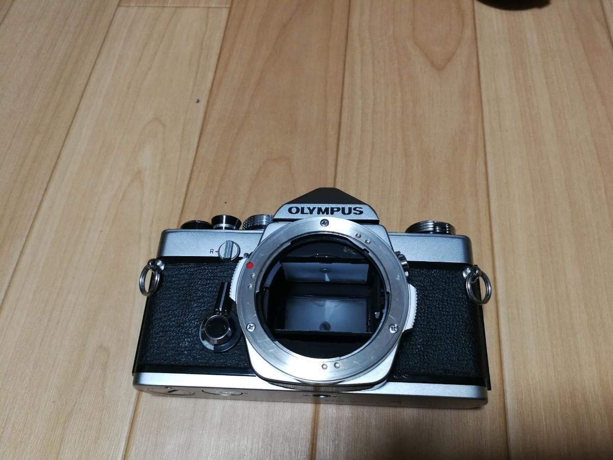売り切り☆ OLYMPUS オリンパス OM-1 OM-SYSTEM F.ZUIKO AUTO-S 1:1.8 f=50mm フィルムカメラ 望遠レンズ おまけ付き_画像7