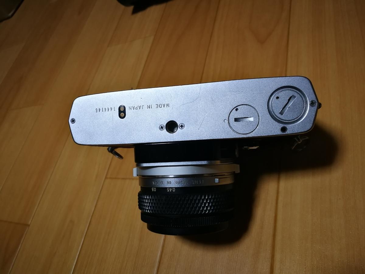 売り切り☆ OLYMPUS オリンパス OM-1 OM-SYSTEM F.ZUIKO AUTO-S 1:1.8 f=50mm フィルムカメラ 望遠レンズ おまけ付き_画像5