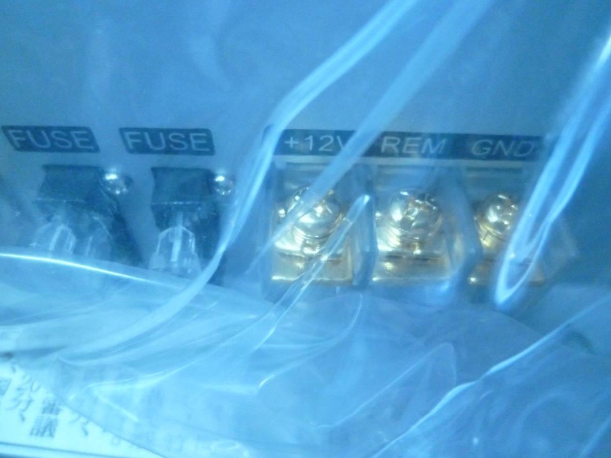 定価144千円 デジアンや中古に興味のない方オススメ!! 新品未使用 CRUNCH USA クランチ 4/3/2chパワーアンプ 定格1200W RCA1系統4ch可能_画像7