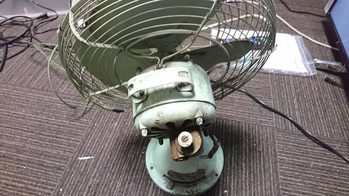 昭和レトロ アンティーク ナショナル 扇風機 エレクロリックファン 1951年 ジャンク 引き取り歓迎_画像3