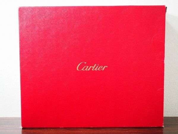 レア美品 カルティエ Cartier カボション レザートートバッグ シルバー金具 箱・ギャランティ有 76_画像3