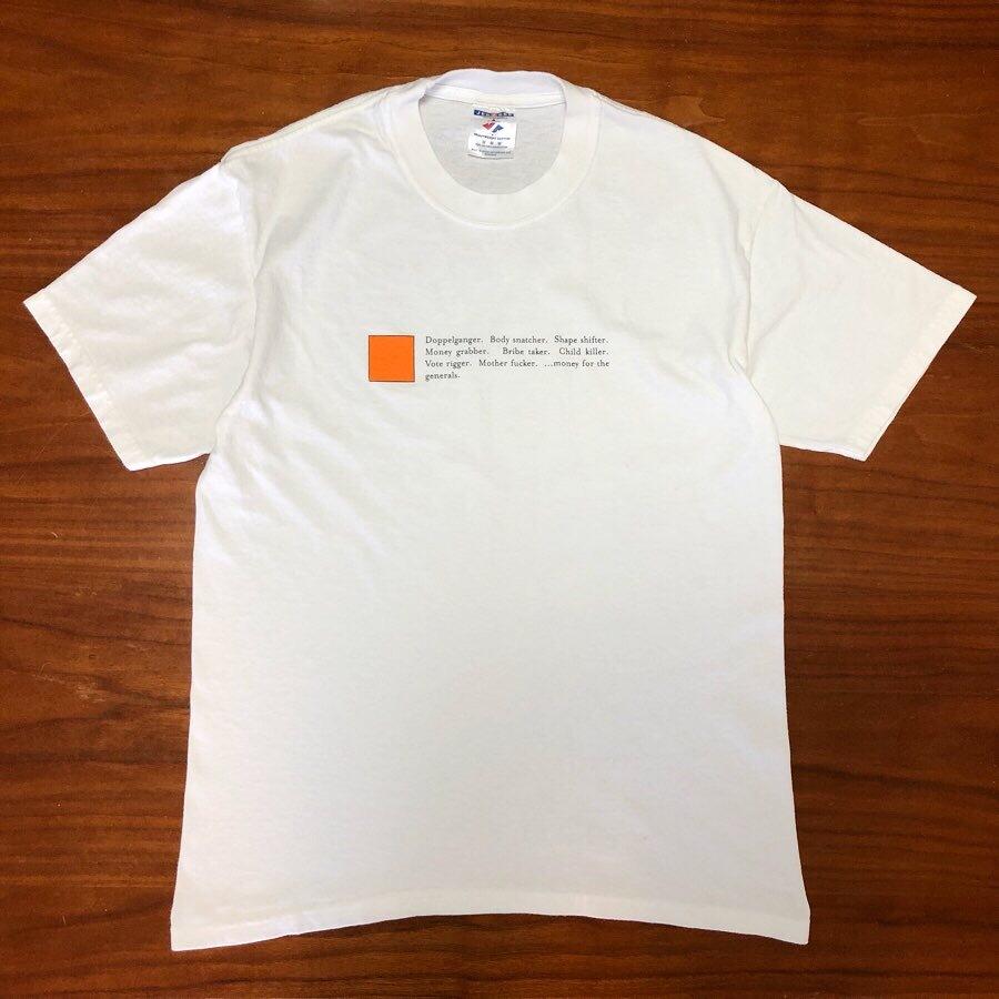 00s ビンテージ RADIOHEAD Tシャツ Mサイズ 00年代 ヴィンテージ レディオヘッド バンドT NIRVANA OASIS BJORK SONICYOUTH BLUR RAP 映画_画像1