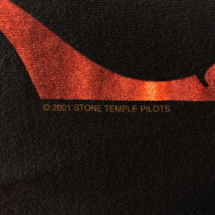 00s ビンテージ STONE TEMPLE PILOTS Tシャツ Mサイズ 00年代 ヴィンテージ ストーンテンプルパイロッツ バンドT NIRVANA OASIS BJORK STP_画像5