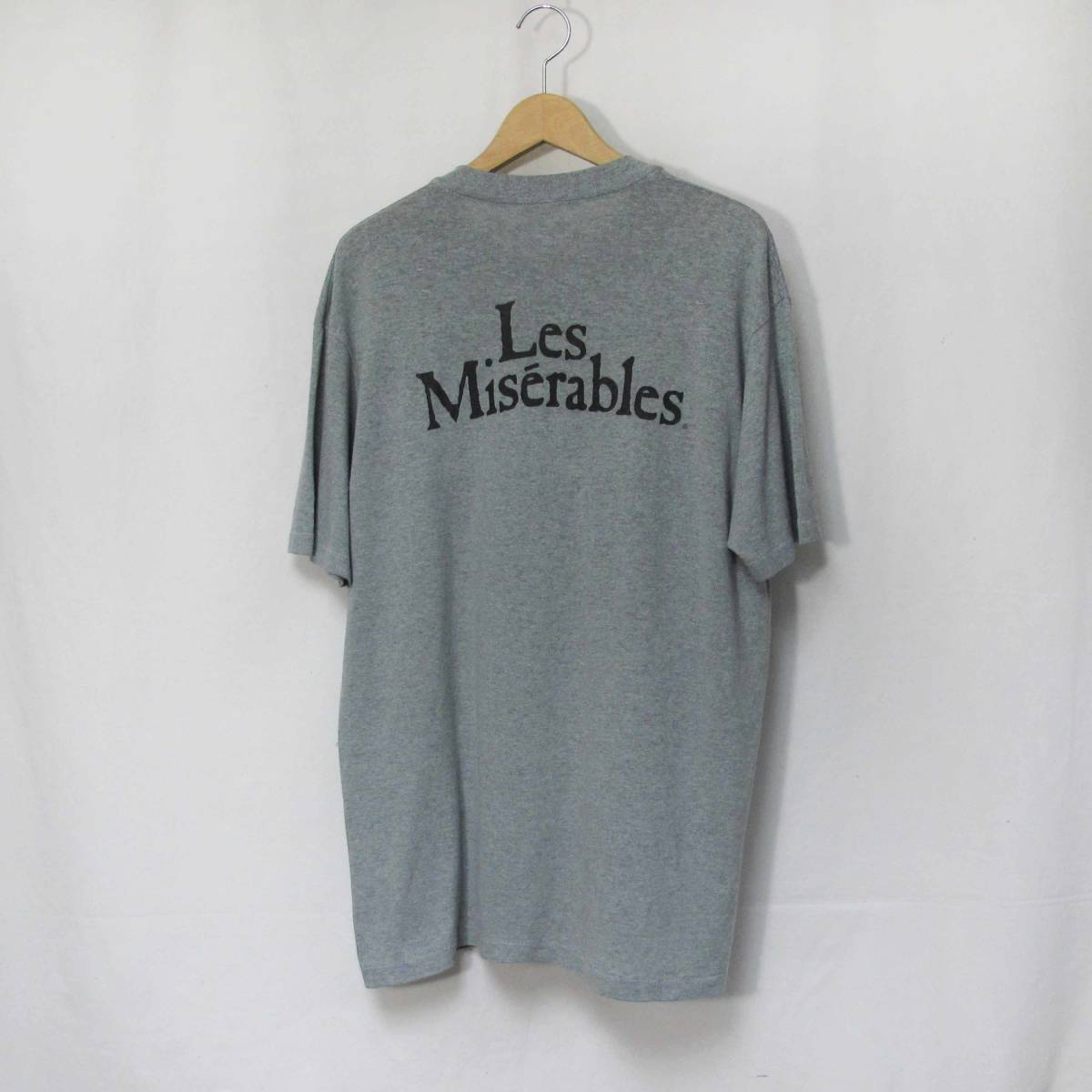 80s Les Miserables Tシャツ USA製 ミュージカル レ・ミゼラブル スウェット SUPREME スケート_画像2