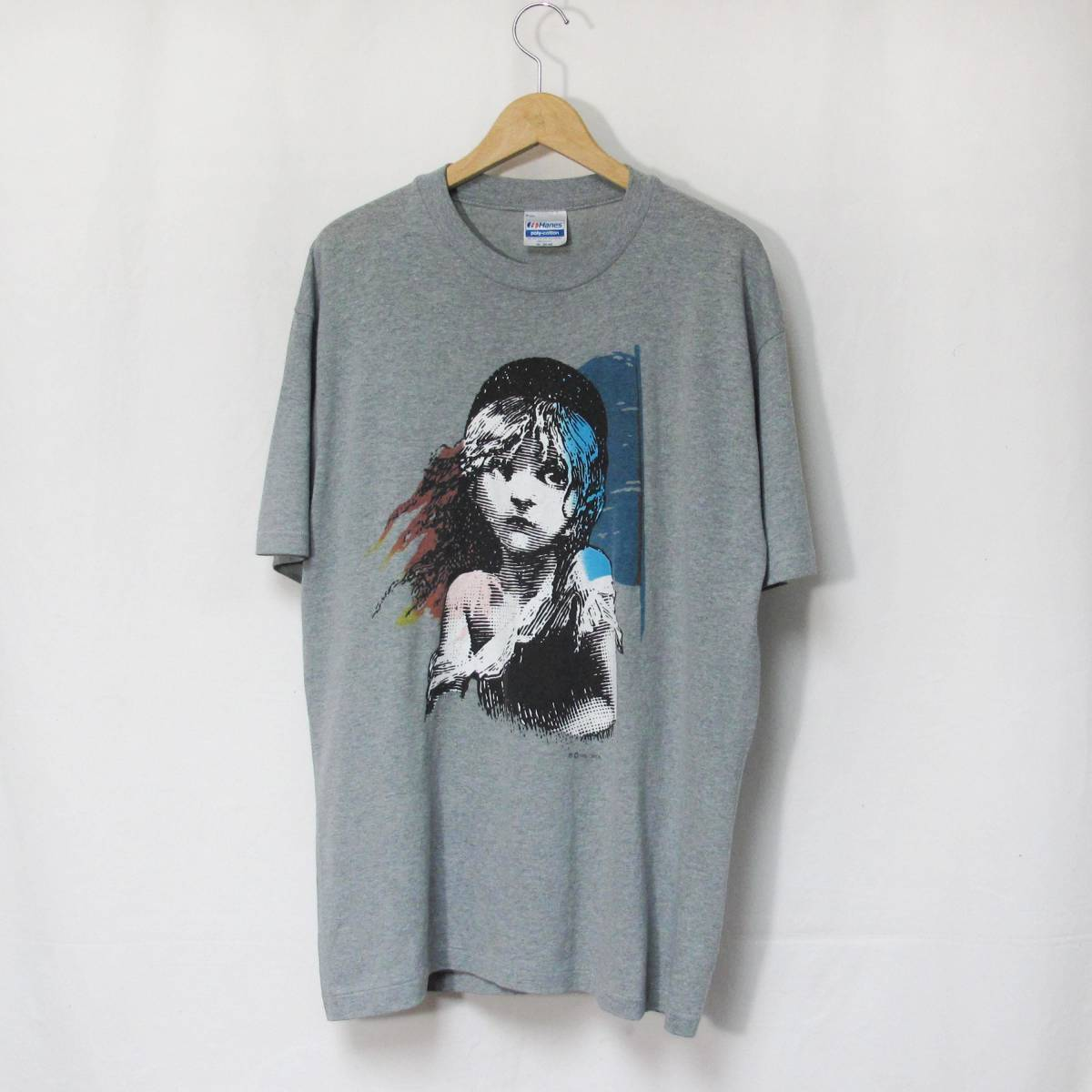 80s Les Miserables Tシャツ USA製 ミュージカル レ・ミゼラブル スウェット SUPREME スケート