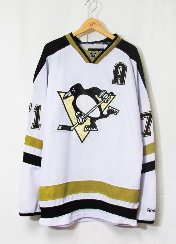 新品 NHL PITTSBURGH PENGUINS 『EVGENI MALKIN #71』 ジャージ カナダ製 ICE HOCKEY アイスホッケー STANLEY CUP SERIES REEBOK HIP HOP