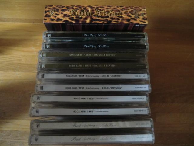 ♪ 送料無料! 倖田來未 DVD+CD+写真集 13枚 DVD(10th Anniversary 等) CD (ベスト1~3/Black Cherry/kingdom等)21CD+14DVDまとめて_画像3