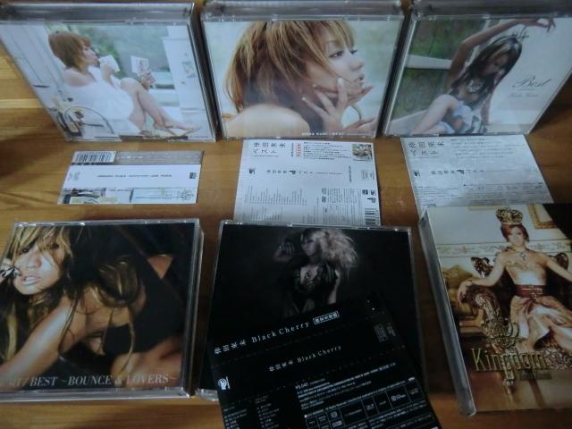 ♪ 送料無料! 倖田來未 DVD+CD+写真集 13枚 DVD(10th Anniversary 等) CD (ベスト1~3/Black Cherry/kingdom等)21CD+14DVDまとめて_画像5
