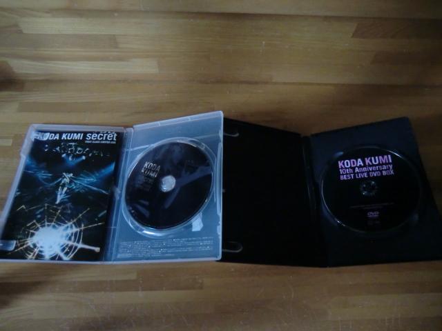♪ 送料無料! 倖田來未 DVD+CD+写真集 13枚 DVD(10th Anniversary 等) CD (ベスト1~3/Black Cherry/kingdom等)21CD+14DVDまとめて_画像9