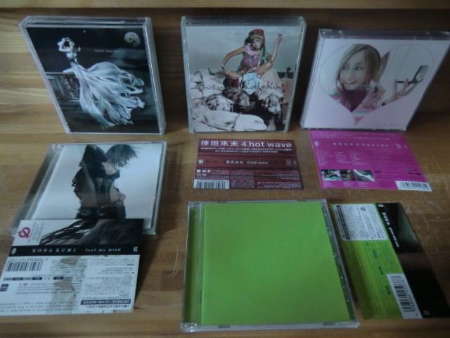 ♪ 送料無料! 倖田來未 DVD+CD+写真集 13枚 DVD(10th Anniversary 等) CD (ベスト1~3/Black Cherry/kingdom等)21CD+14DVDまとめて_画像6