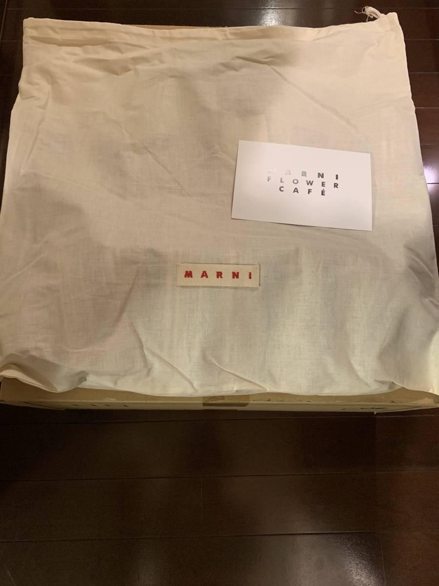 マルニ マルニフラワーカフェ マルニカフェ 新品未使用 タグ付き トートバッグ ストライプバッグ_画像3