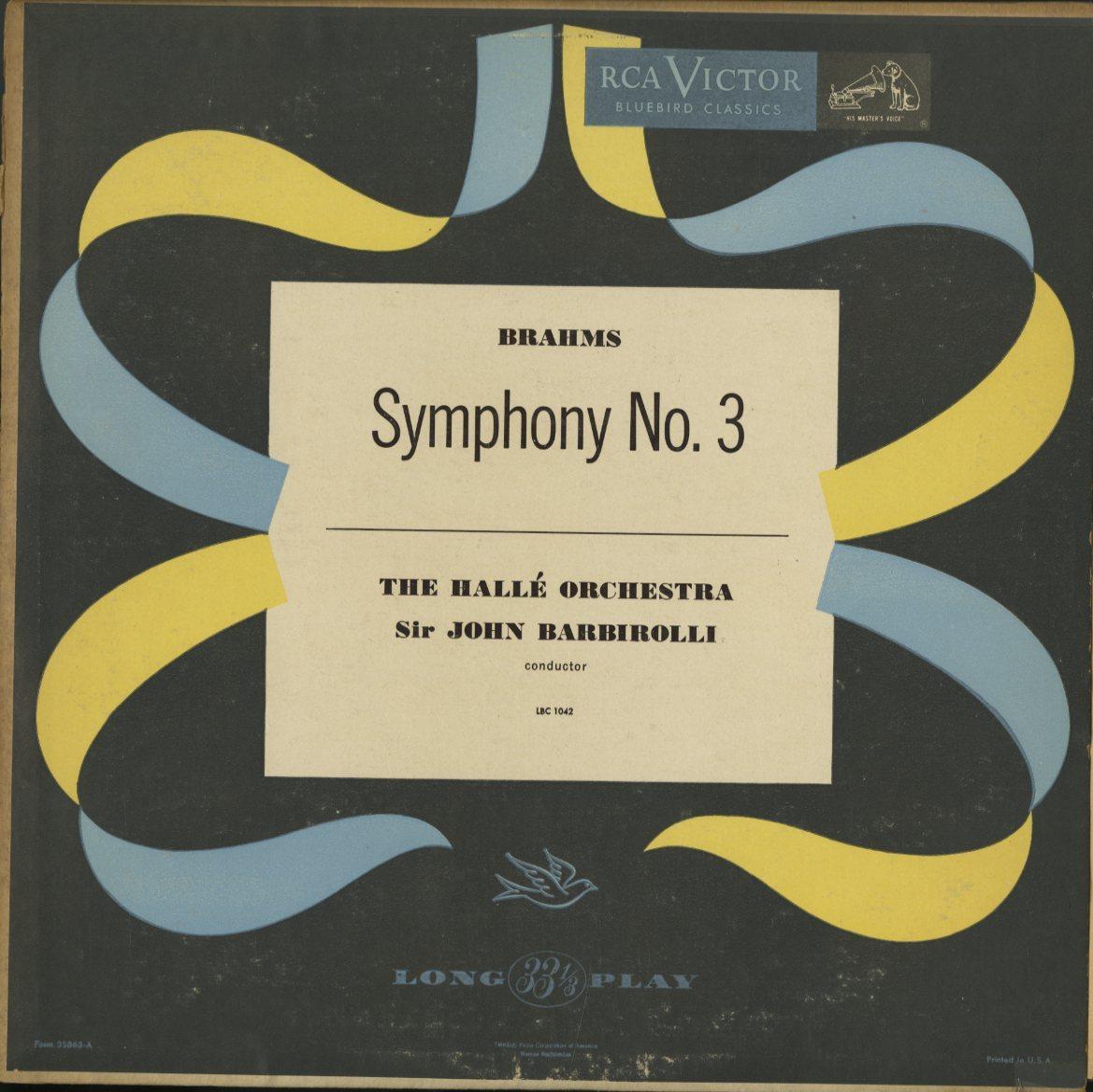 米 RCA Bluebird イダ・ヘンデル クーベリック ベートーヴェン バルビローリ ヤン・スメテルリン ブラームス アマデウス弦楽四重奏団 4LP_画像3