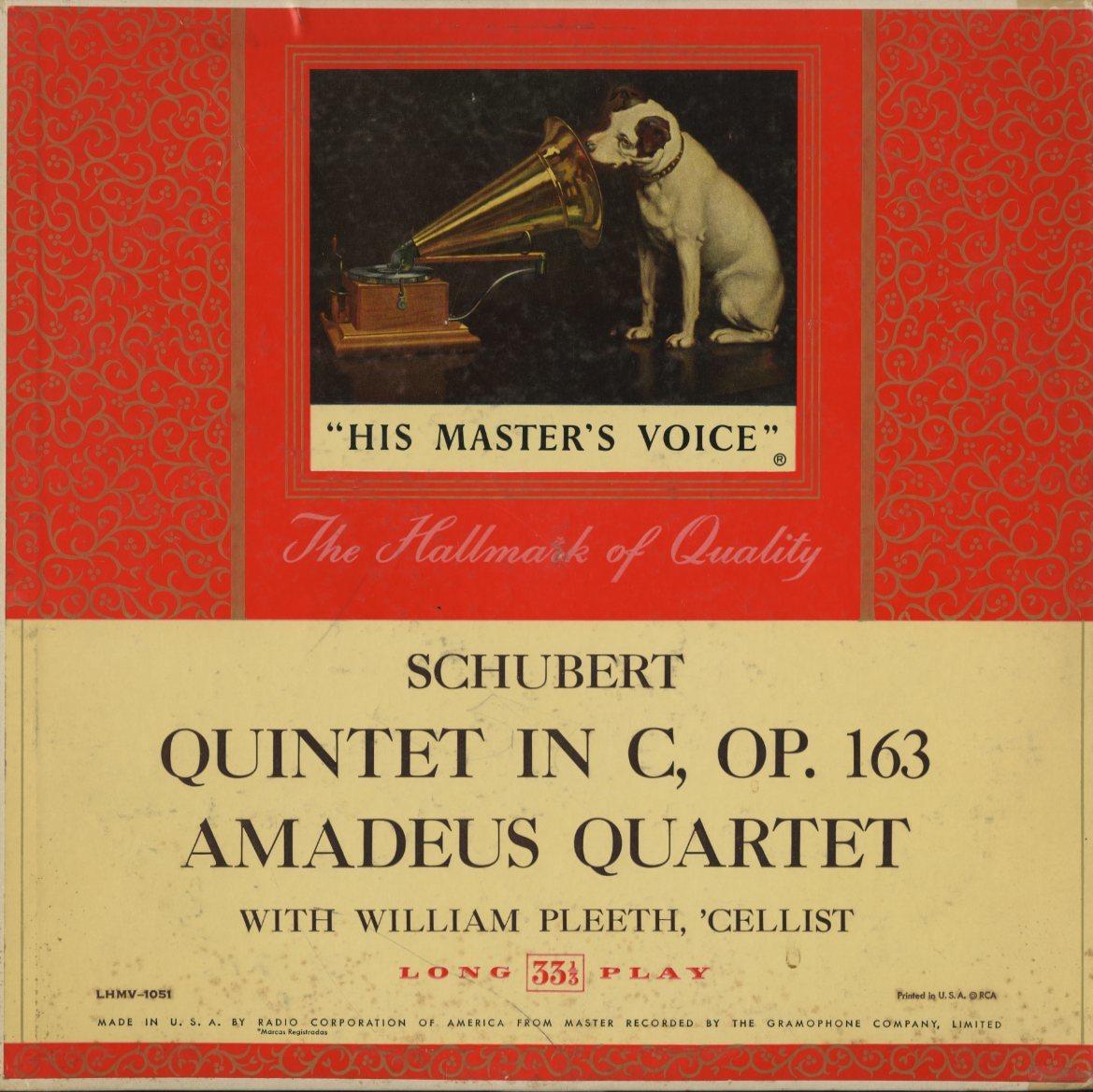 米 RCA Bluebird イダ・ヘンデル クーベリック ベートーヴェン バルビローリ ヤン・スメテルリン ブラームス アマデウス弦楽四重奏団 4LP_画像7