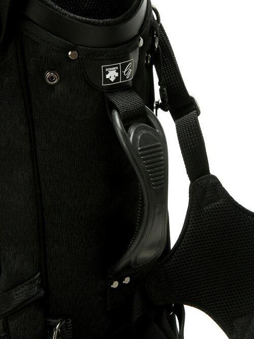 ◆新品◆デサント◆DQBNJJ00 スタンド キャディバッグ◆2019◆9型 3.5kg◆ブラック 黒_画像5