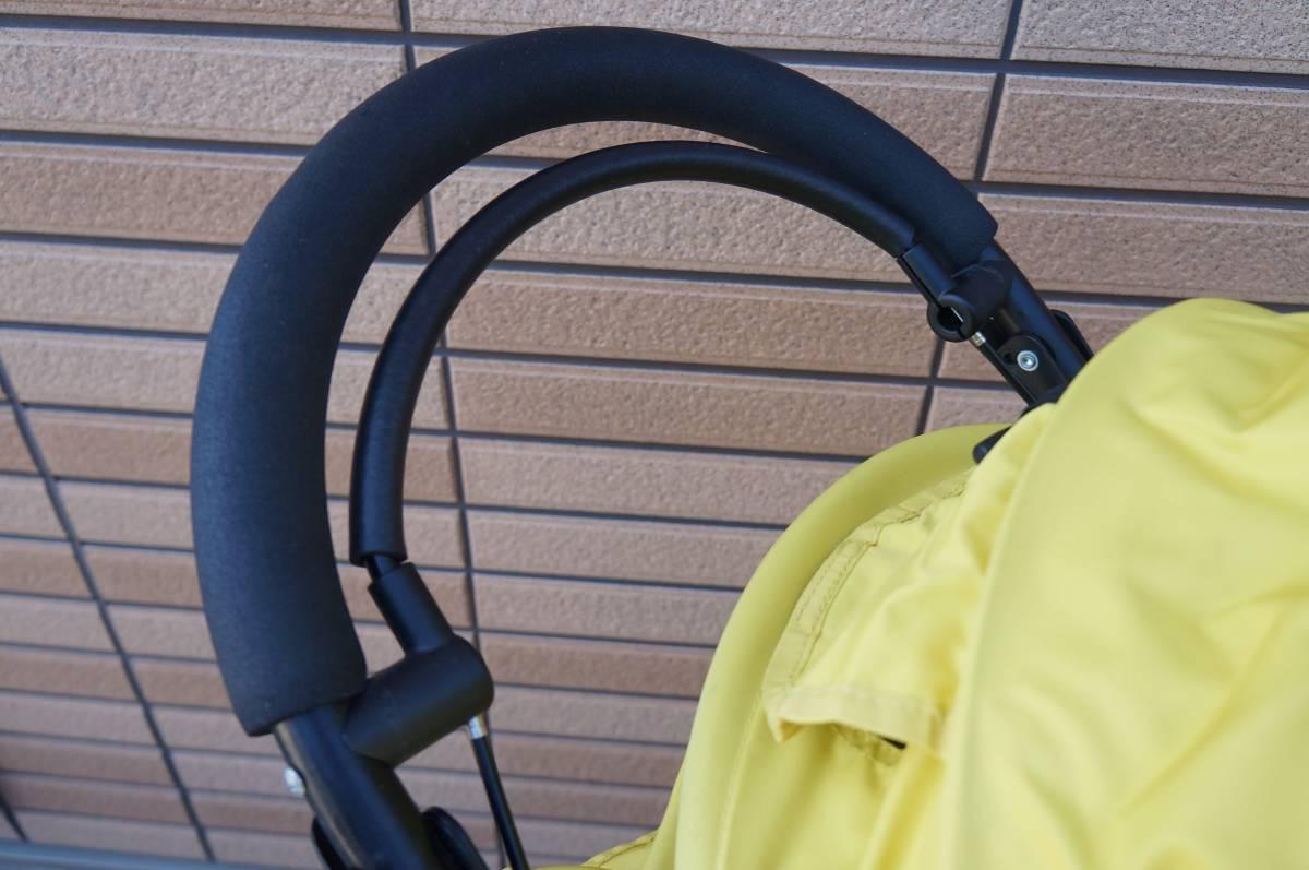 エアバギーココ ブレーキモデル AIR BUGGY COCO レインカバー 空気入れ 説明書付き(リヤタイヤ パンク修理歴あり)_画像5