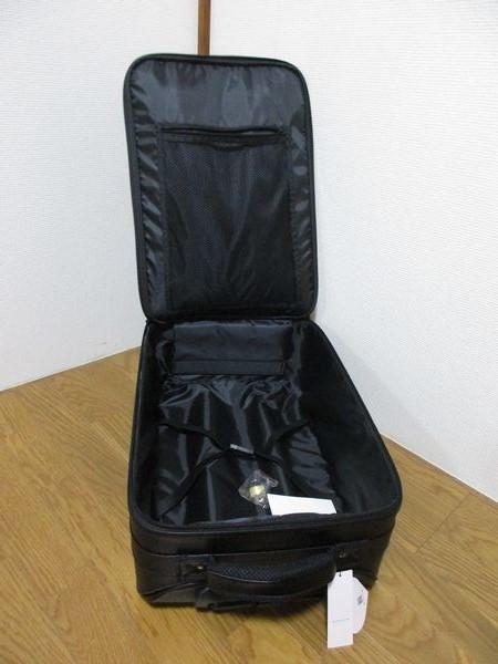アンクルージュ Ank Rouge キャリーケース スーツケース トランクケース キャリーバッグ 黒 ブラック 未使用品 新品 鍵有り_画像2