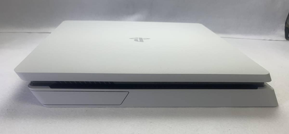 SONY ソニー playstation4 PS4 プレイステーション4 本体 500GB CUH-2200AB02 グレイシャー・ホワイト 外箱 購入店シール 付き 動作確認済_画像3