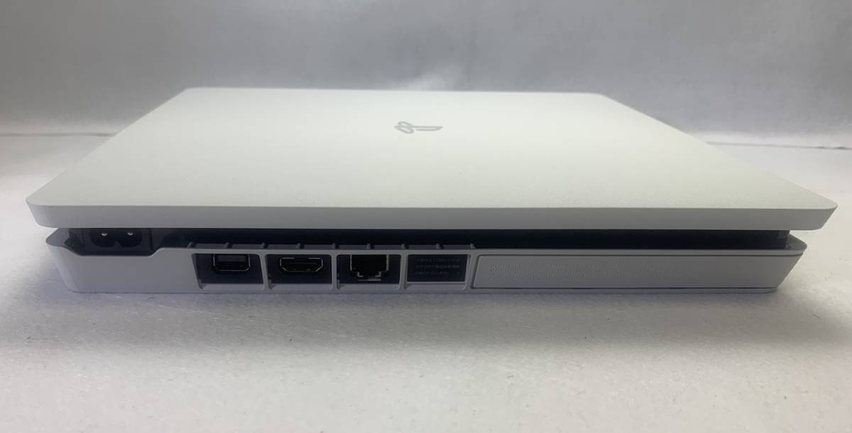 SONY ソニー playstation4 PS4 プレイステーション4 本体 500GB CUH-2200AB02 グレイシャー・ホワイト 外箱 購入店シール 付き 動作確認済_画像4