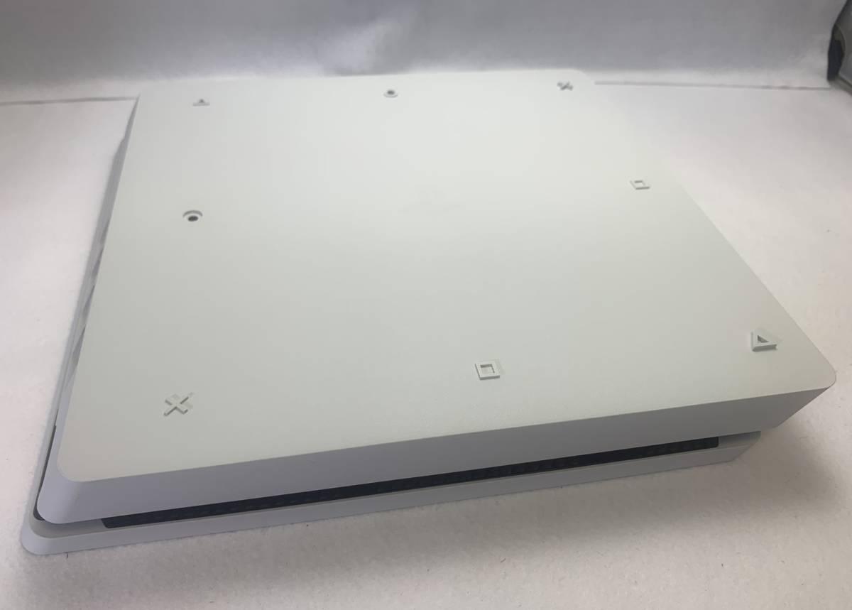 SONY ソニー playstation4 PS4 プレイステーション4 本体 500GB CUH-2200AB02 グレイシャー・ホワイト 外箱 購入店シール 付き 動作確認済_画像6