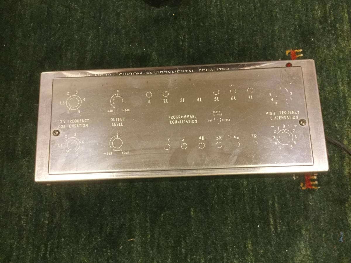 MQ107 イコライザー ジャンク出品です。
