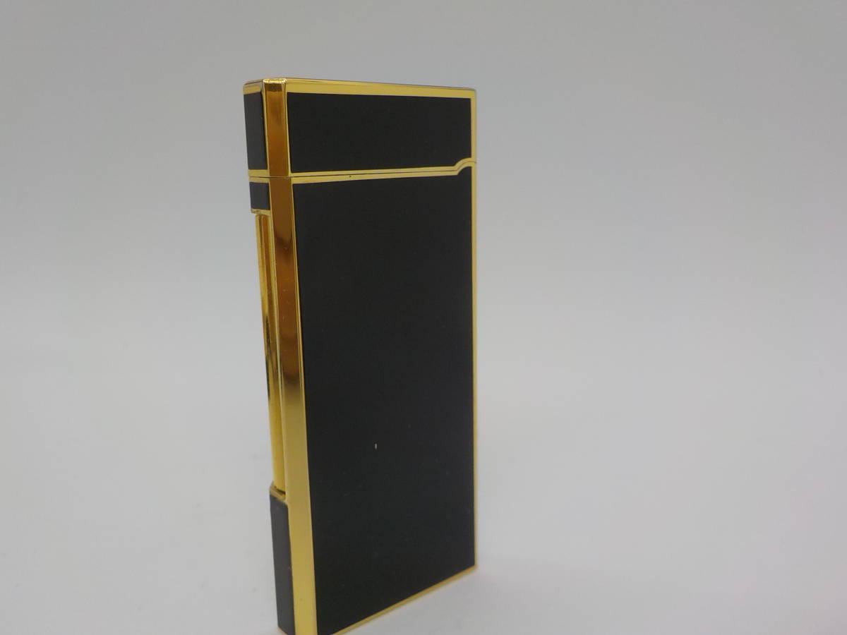 【GIVENCHY】ジバンシー ガスライター ブラック ゴールドカラー_画像4