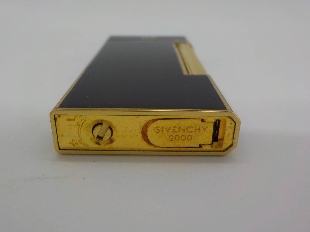 【GIVENCHY】ジバンシー ガスライター ブラック ゴールドカラー_画像7