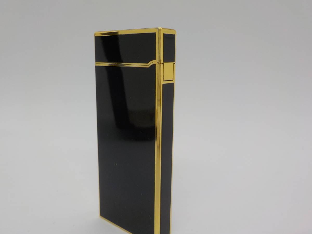 【GIVENCHY】ジバンシー ガスライター ブラック ゴールドカラー_画像5