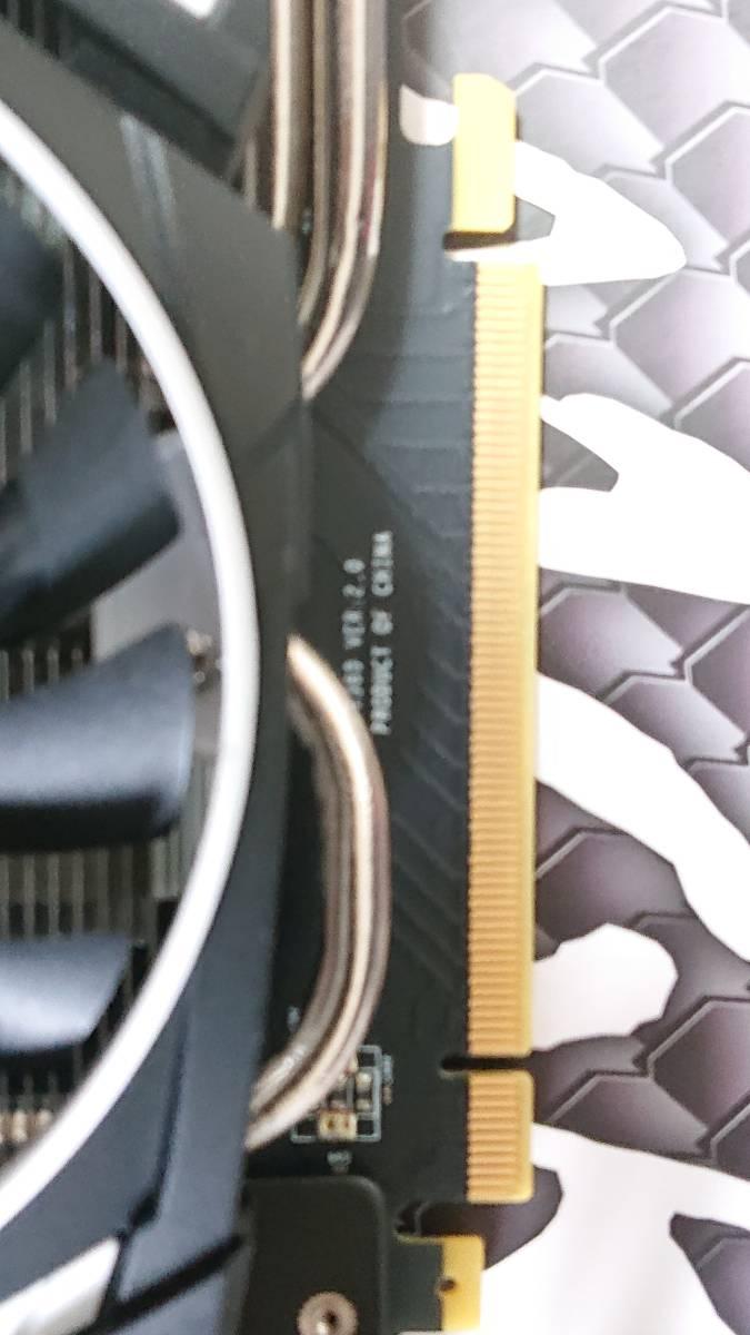 中古 MSI GeForce GTX 1080 Ti ARMOR 11G OC グラフィックスボード VD6303 マイニングに使ったことがない 保証中 1円から_画像7