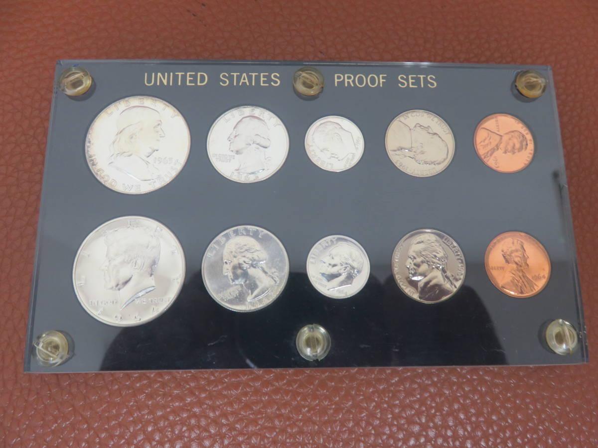 #6302 外国硬貨 アメリカ硬貨 U.S PLOOF SET プルーフ貨幣 未使用コイン ケネディハーフダラー銀貨など