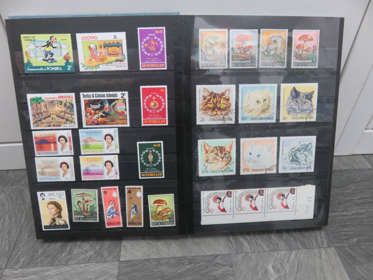 7-23 外国切手 各国の切手 大量 切手 未使用/使用済★消印有/無色々あり★おまとめセット_画像6