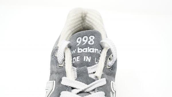 New Balance ニューバランス - M998CH CHARCOAL 28.0cm Dウィズ USA製 新品未使用・生産終了品番 (検 M576 M995 M1400 M1300 M1500_画像6