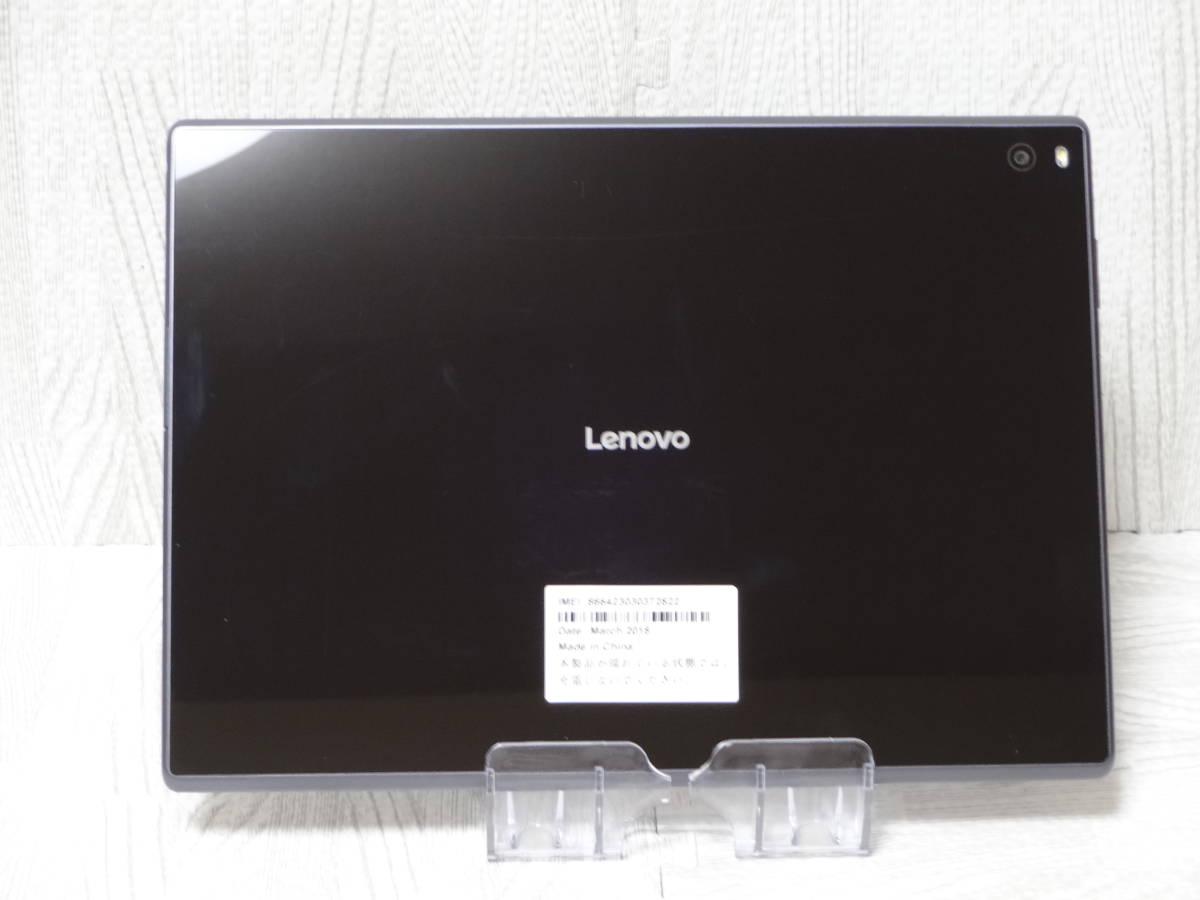 美品■ジャンク■ SoftBank Lenovo Tab4 701LV ブラック ○送料185円 U1562_画像3