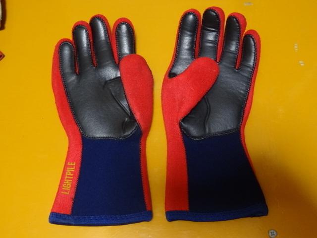 使用2日 カドヤ レース用雨天用手袋 高強度2~3倍厚 日本製 シリコン毛氈 ハイネオプレーン レイングローブ 耐水 全面高強度衝撃吸収 M_画像2